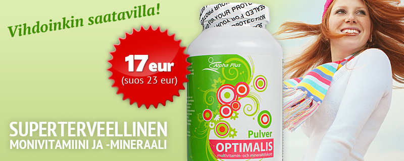 Optimalis - Nyt 17 eur (suos. 23 eur)