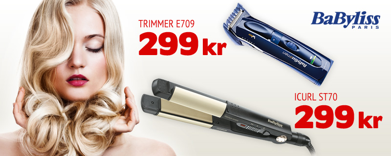 BaByliss - 299 kr