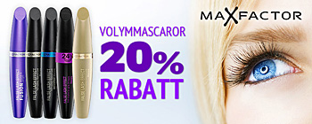Max Factor False Lash Effects mascaror - 20% rabatt!