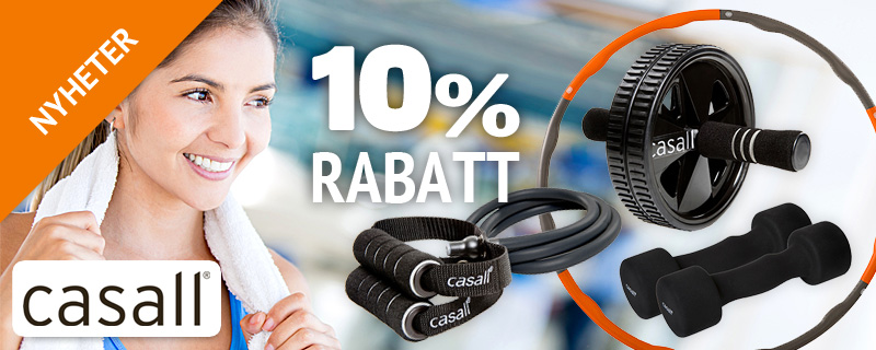 Casall nyheter - 10% rabatt!