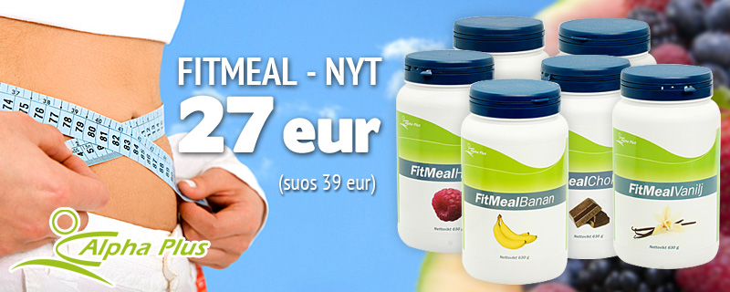 Fitmeal Nyt 27 eur (suos 39 eur)!