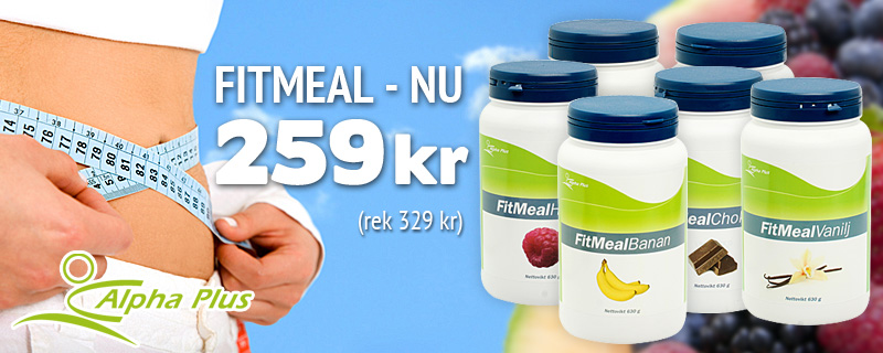 Fitmeal Nu 259 kr (rek 329 kr)!