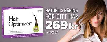 Hair Optimizer! Nu 269 kr (rek 359 kr)