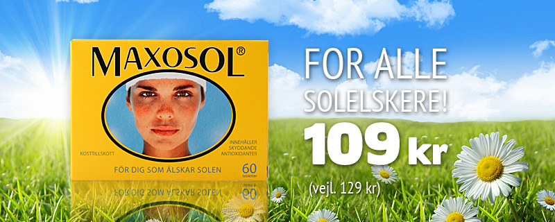  Maxosol - 14 eur (suos 21 eur)!