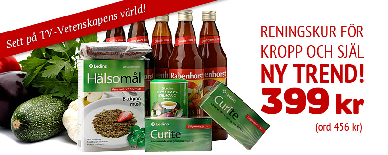 Vitaminfasta 6-dagars! Nu 399 kr (rek 456 kr)