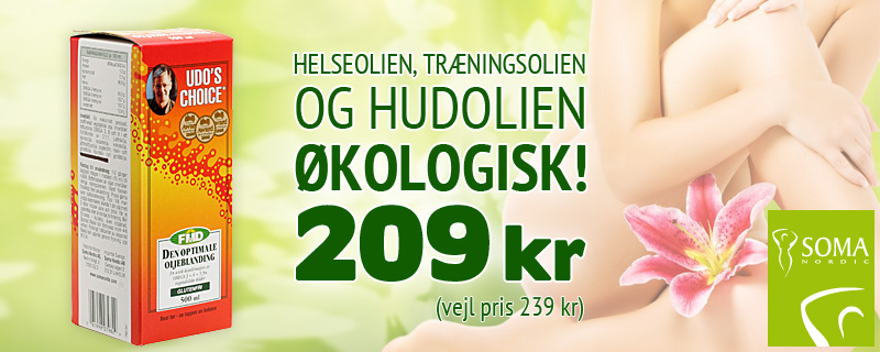 Udos Choice 500ml - 209 kr (vejl pris 239 kr)