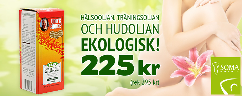 Udos Choice Nu 225 kr (rek 295 kr)!