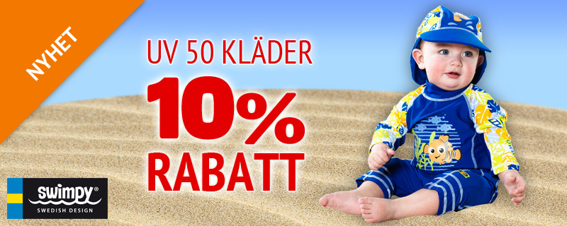 Nyhet - Swimpy -10% rabatt!