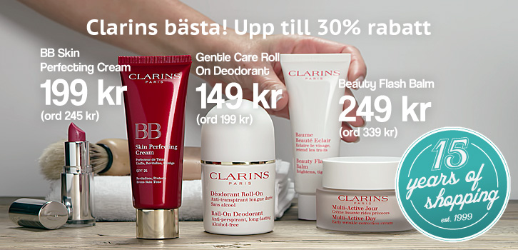 Shopping4net älskar Clarins!