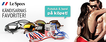 Jam Jar och putsduk frn Le Specs p kpet!