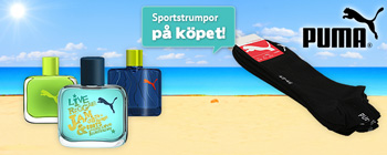 Puma - sportstrumpor p kpet!