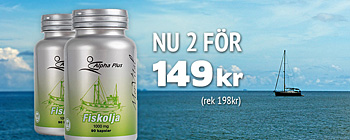 MerVital Fiskolja - 2 fr 149kr (rek 198kr)