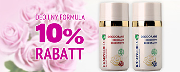 Deo Rosenserien - 10 % rabatt!