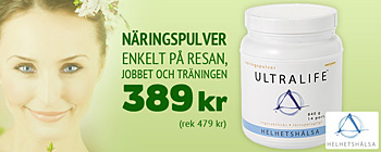 UltraLife Nu 389 kr (rek 479 kr)!