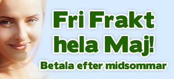 Fri frakt hela maj!