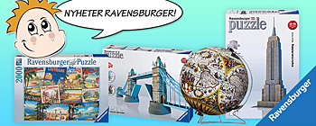 Ravensburger  nyheter! 