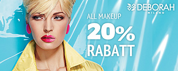 Deborah make-up - 20% rabatt!