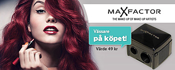 Max Factor Giant Lip Pencil - vässare på köpet!