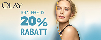 Olay Total Effects - 20% rabatt!