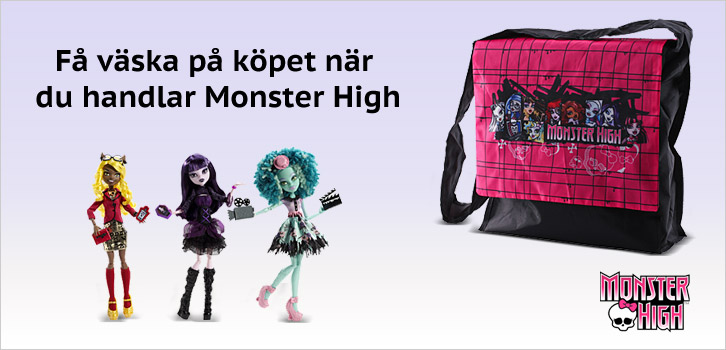 Monster High - Väska på köpet!