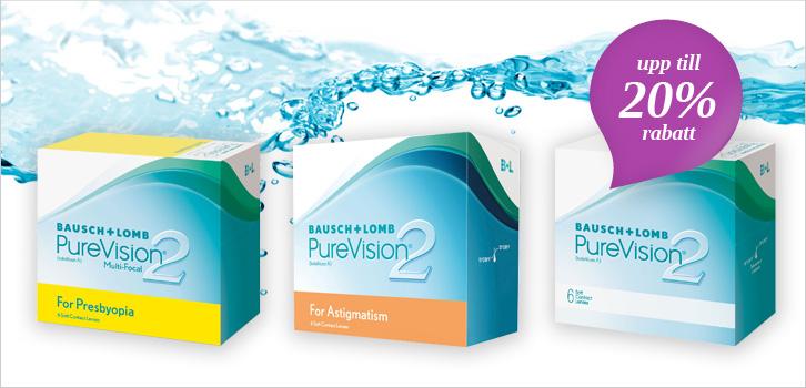 Purevision 2 - upp till 20% rabatt!