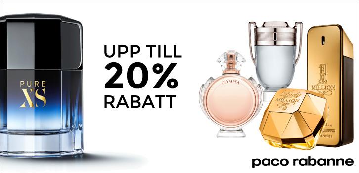Paco Rabanne - upp till 20% rabatt