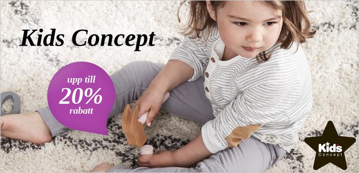 Kids Concept - Upp till 20% rabatt