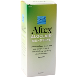 Aftex Aloclair skölj
