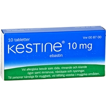 Kestine 10mg 10tabletter