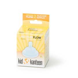 Kid Kanteen Baby Nipple Medium Flow