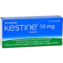 Kestine tablett 10 mg 30tabletter