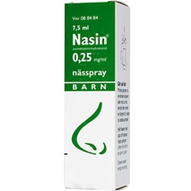 Nasin 0,25mg/ml (Läkemedel)