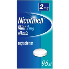 96 tabletter - Nicotinell Mint 2mg (Läkemedel)