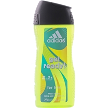 Adidas Get Ready For Him - 2 in 1 Shower Gel