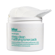 Steep Clean Mattifying Toner Pads
