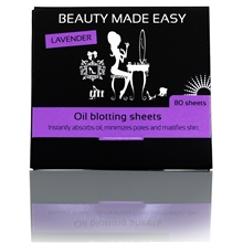 Lavender Oil Blotting Sheets