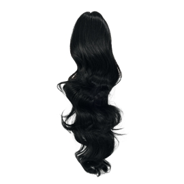 791964 Hairextensions Curly Ponytail