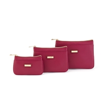 Lucia Fuchsia Toiletry Bag Set