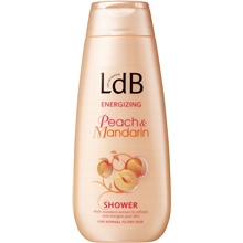LdB Shower Energizing, Peach & Mandarin