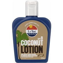 Le Tan Coconut Lotion SPF 8