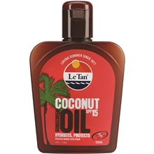 Le Tan Coconut Oil SPF 15