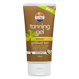 Tanning Gel Coconut Bronze Gradual Tan