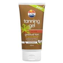Tanning Gel Coconut Deep Bronze Gradual Tan
