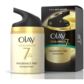 Olay Total Effects Fragrance Free Moisturiser