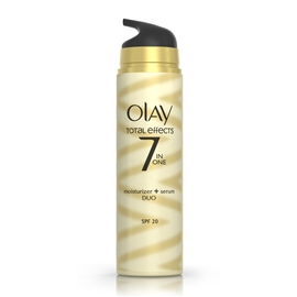 Olay Total Effects Moisturiser + Serum Duo