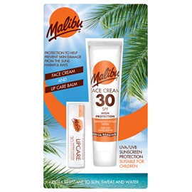 Malibu Face Cream SPF 30 & Lip Balm SPF 30