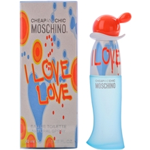 Moschino I Love Love - Eau de toilette Spray
