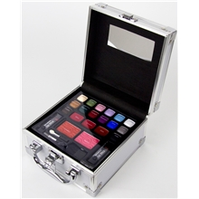 Colour Traveller Train Case - Make-up Set