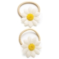 09034 Fantasy Flower White Hair Elastic
