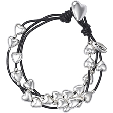 Heart Leather Bracelet
